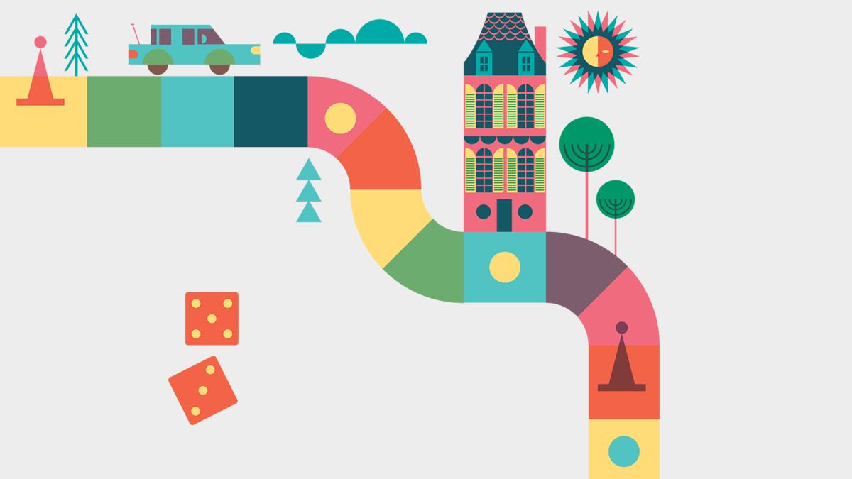 Društvene igre - susret ilustracije i dizajna